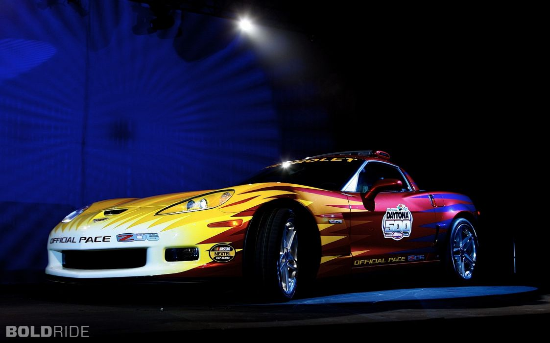 2006 Chevrolet Corvette Z06 Daytona 500 Pace Supercar Supercars Race