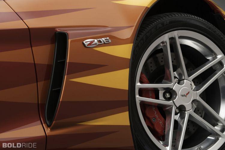 2006 Chevrolet Corvette Z06 Daytona 500 Pace supercar supercars race racing muscle wheel wheels b wallpaper