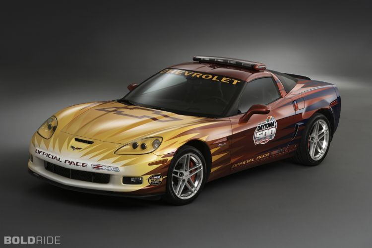 2006 Chevrolet Corvette Z06 Daytona 500 Pace supercar supercars race racing wallpaper