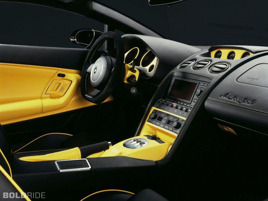 2006 Lamborghini Gallardo S-E supercar supercars interior wallpaper
