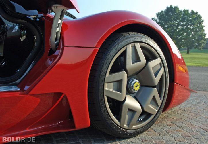 2006 Pininfarina Ferrari P4-5 supercar supercars wheel wheels wallpaper