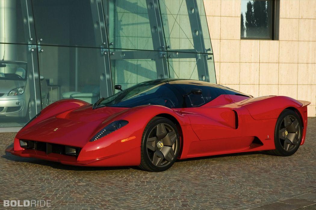2006 Pininfarina Ferrari P4-5 supercar supercars wallpaper