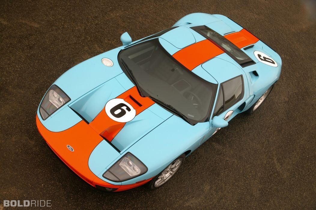 2006 Ford GT Heritage Limited Edition l-e supercar supercars wallpaper
