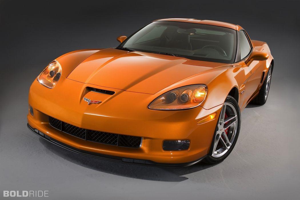 2007 Chevrolet Corvette Z06 muscle supercar supercars wallpaper