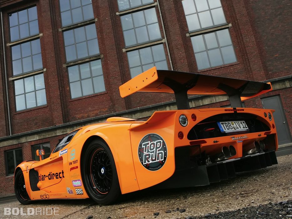 2007 Edo-Competition Maserati MC12 Corsa race racing supercar supercars     i wallpaper