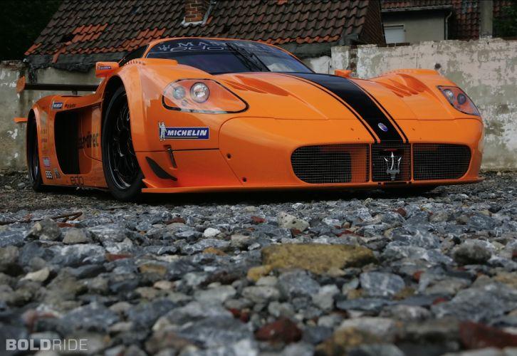 2007 Edo-Competition Maserati MC12 Corsa race racing supercar supercars w wallpaper