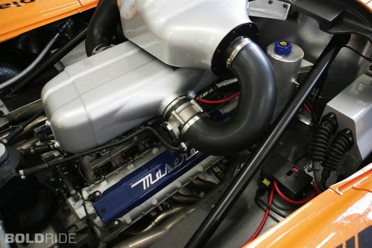 2007 Edo-Competition Maserati MC12 Corsa race racing supercar supercars engine engines h wallpaper