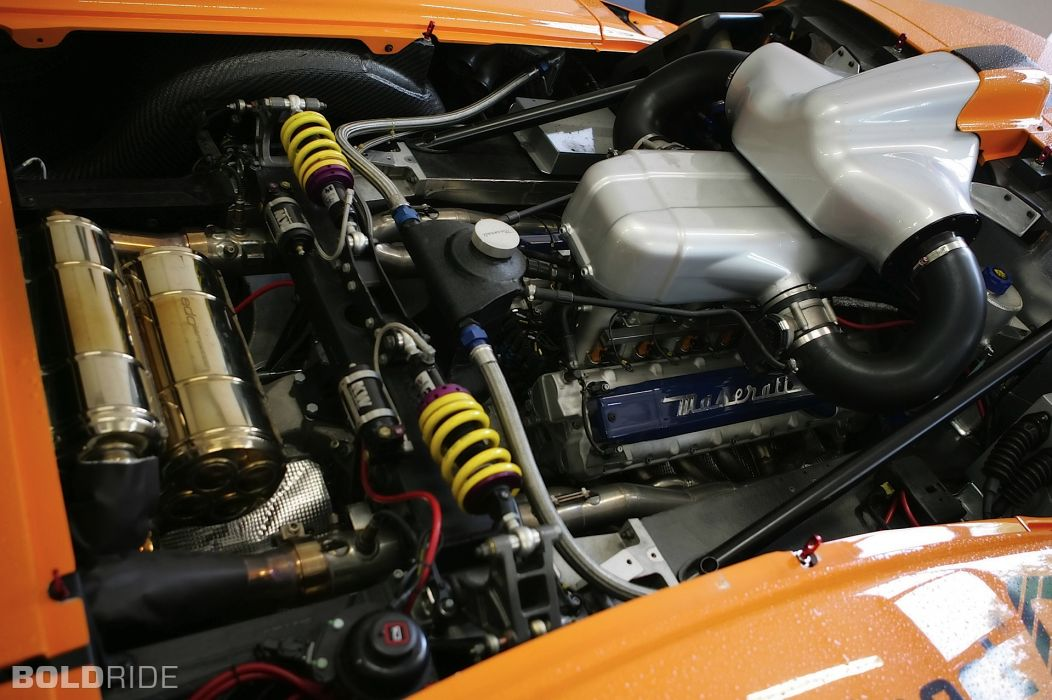 2007 Edo-Competition Maserati MC12 Corsa race racing supercar supercars engine engines wallpaper