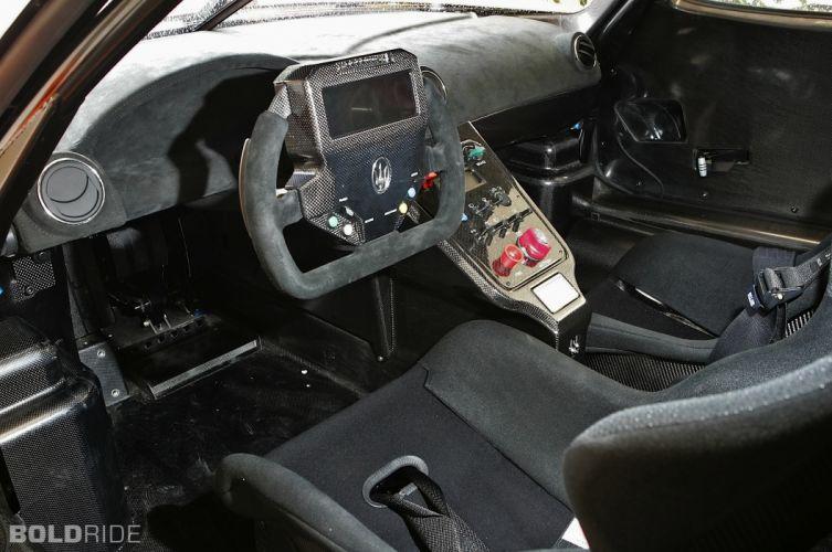 2007 Edo-Competition Maserati MC12 Corsa race racing supercar supercars interior wallpaper