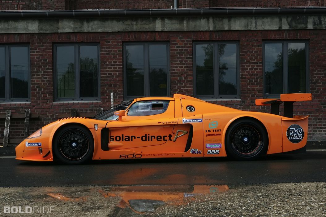 2007 Edo-Competition Maserati MC12 Corsa race racing supercar supercars t wallpaper
