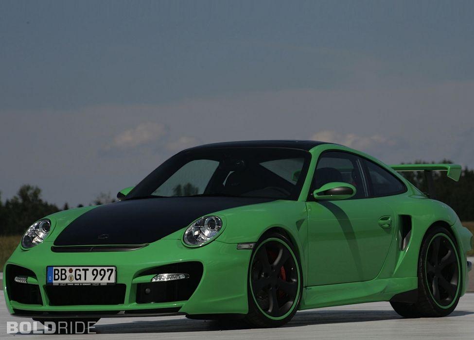 2007 TechArt Porsche 911 Turbo GTstreet g-t  f wallpaper