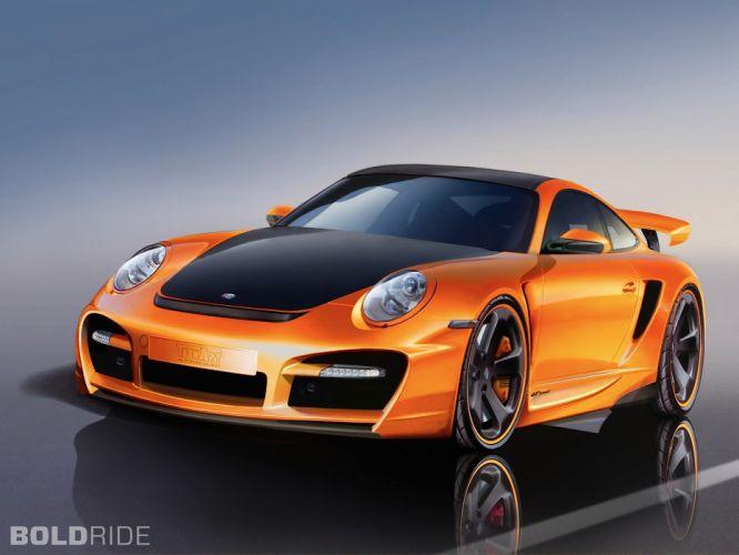 2007 TechArt Porsche 911 Turbo GTstreet g-t wallpaper