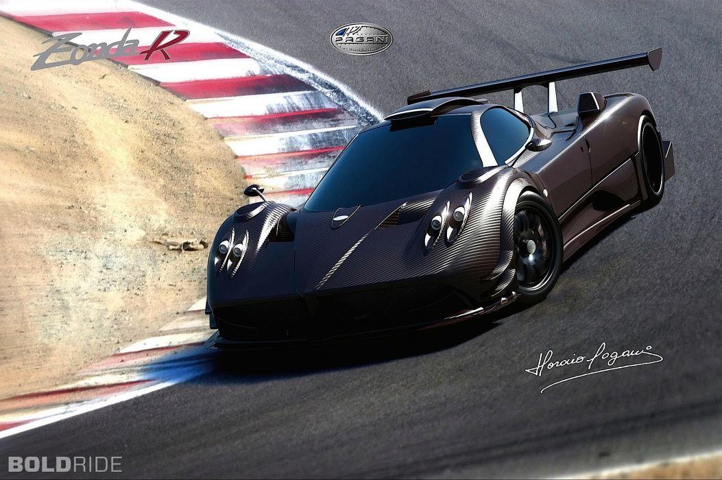2008 Pagani Zonda R supercar supercars    f wallpaper