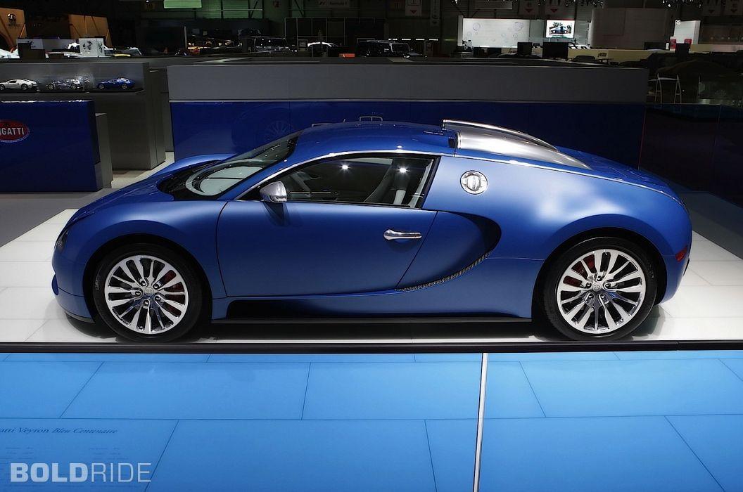 2009 Bugatti Veyron Bleu Centenaire supercar supercars   g wallpaper
