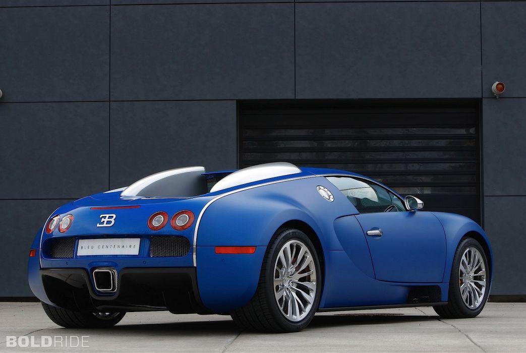 2009 Bugatti Veyron Bleu Centenaire supercar supercars e wallpaper