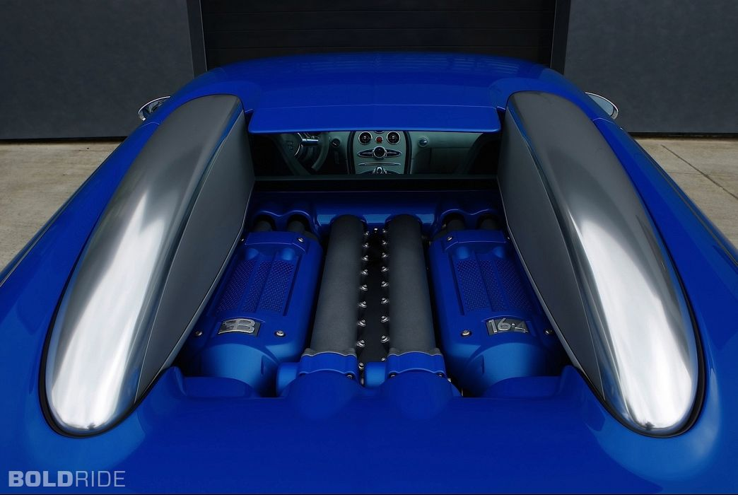 2009 Bugatti Veyron Bleu Centenaire supercar supercars engine engines  f wallpaper
