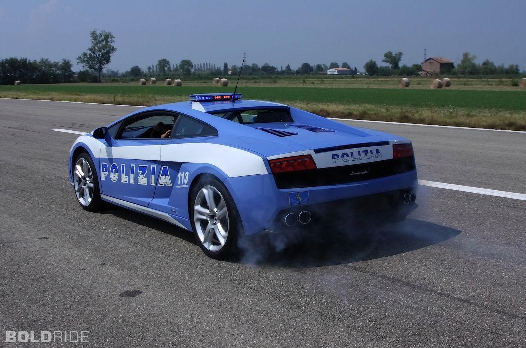 2009 Lamborghini Gallardo LP560-4 Polizia police supercar supercars   n wallpaper