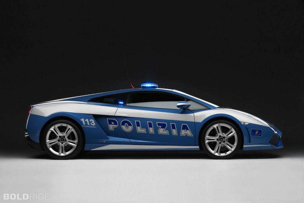 2009 Lamborghini Gallardo LP560-4 Polizia police supercar supercars e wallpaper