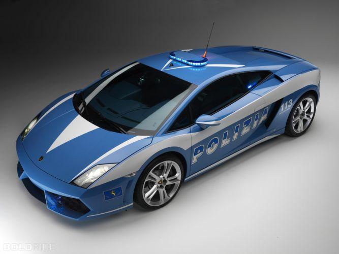 2009 Lamborghini Gallardo LP560-4 Polizia police supercar supercars w wallpaper