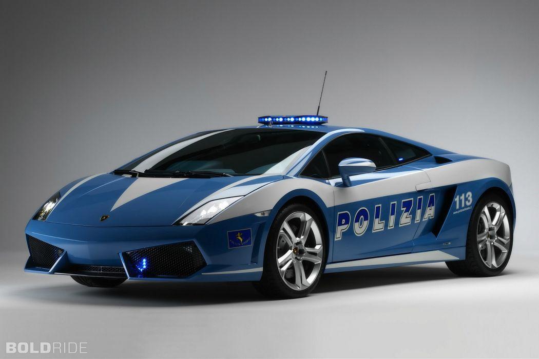 2009 Lamborghini Gallardo LP560-4 Polizia police supercar supercars wallpaper