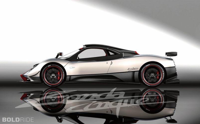 2009 Pagani Zonda Cinque supercar supercars v wallpaper