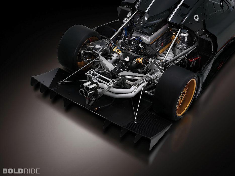 2009 Pagani Zonda R supercar supercars engine engines   g wallpaper