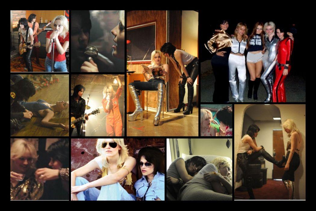 THE RUNAWAYS JOAN JETT lita ford hard rock singer band bands group groups girl girls women d wallpaper