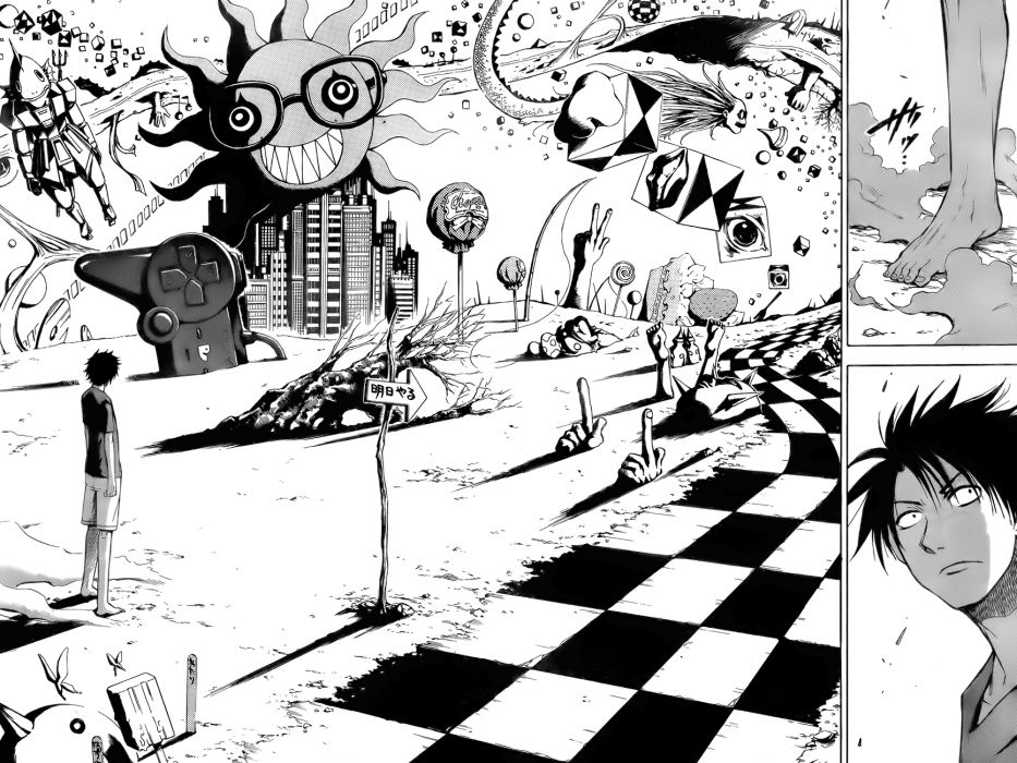 Beelzebub Oga Tatsumi wallpaper