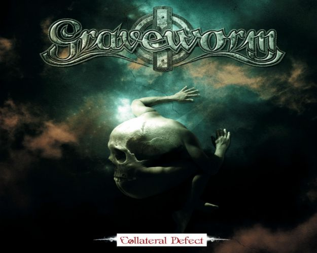 GRAVEWORM extreme gothic metal heavy cover dark skull skulls wallpaper