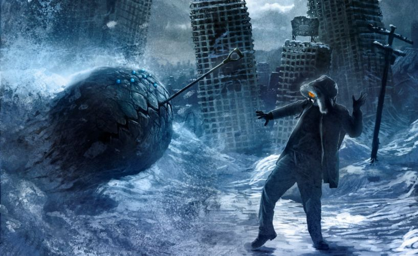 Heroes comics Romantically Apocalyptic Monsters sci-fi comic comics supehero wallpaper