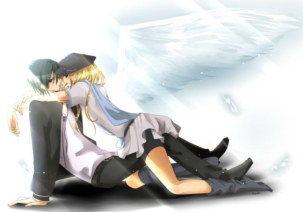 Inazuma Eleven Angel Beats! wallpaper