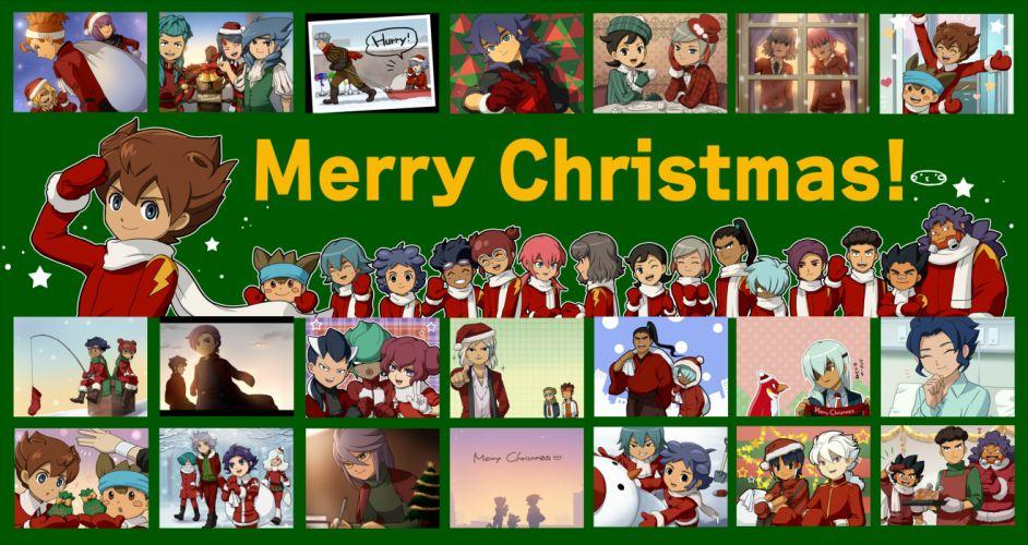 Inazuma Eleven GO christmas wallpaper