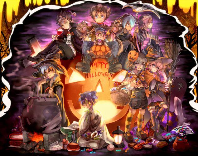 Inazuma Eleven GO halloween wallpaper