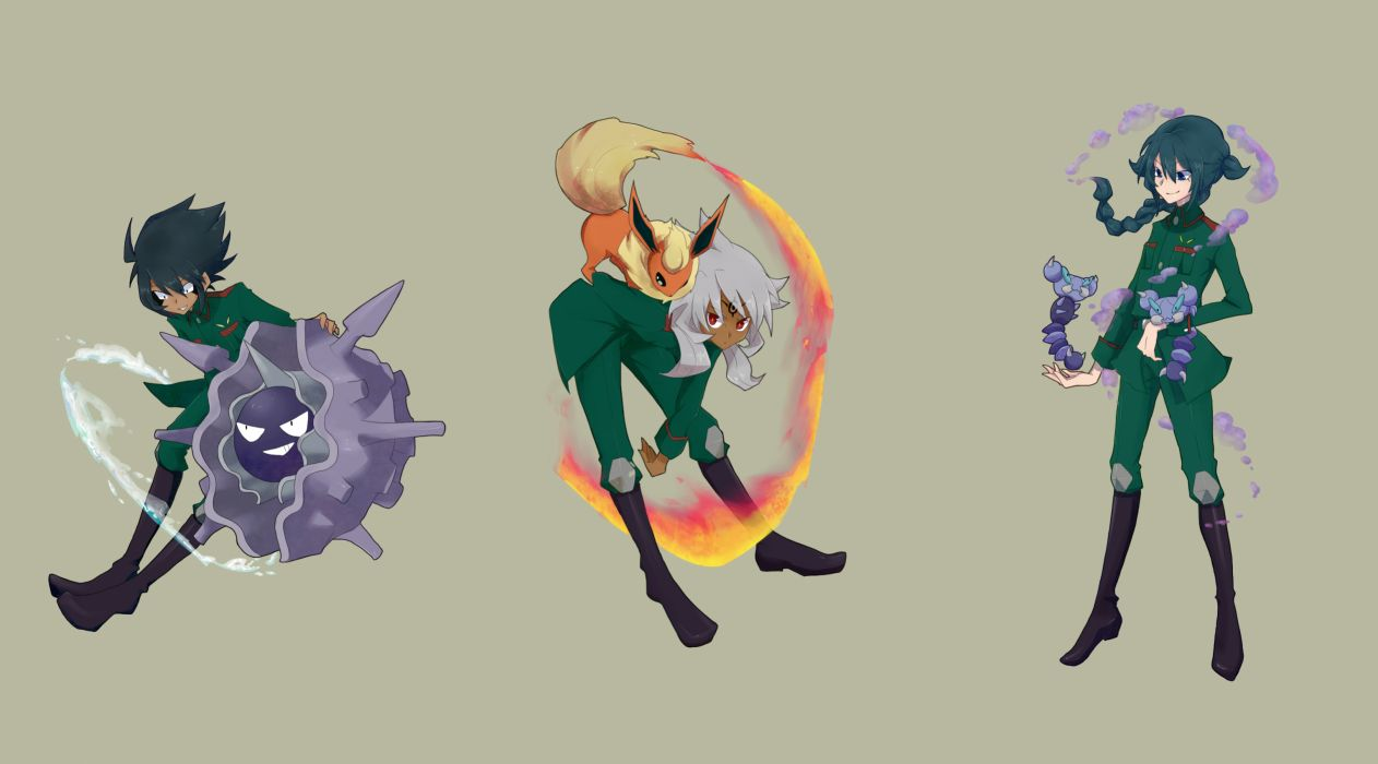 Inazuma Eleven pokemon wallpaper