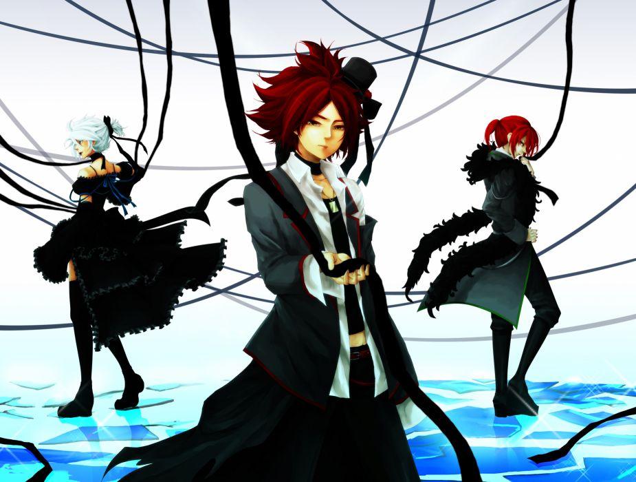 Inazuma Eleven Vocaloid Imitation Black wallpaper