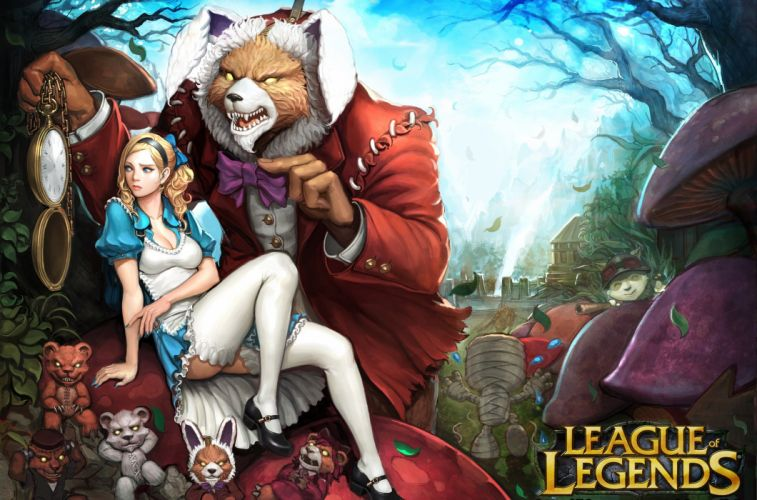 League of Legends Games Girls fantasy wallpaper