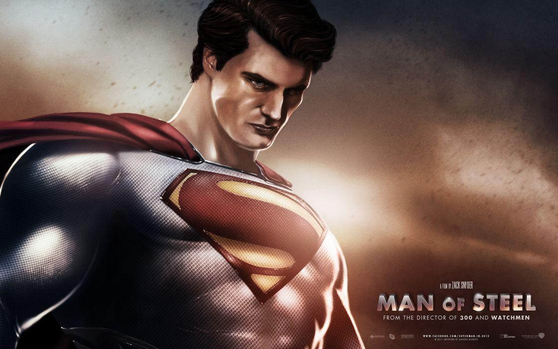 Man Of Steel superman superhero    a wallpaper