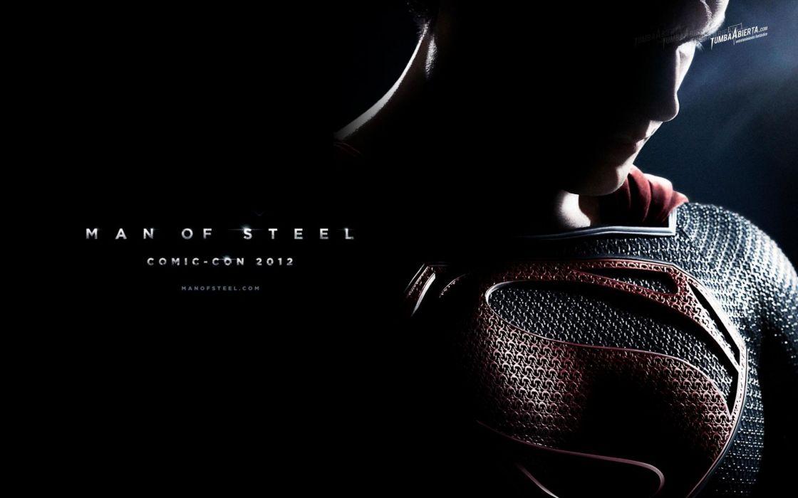 Man Of Steel superman superhero   d wallpaper