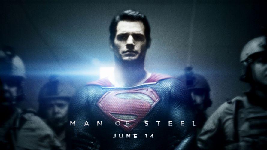 Man Of Steel superman superhero w wallpaper