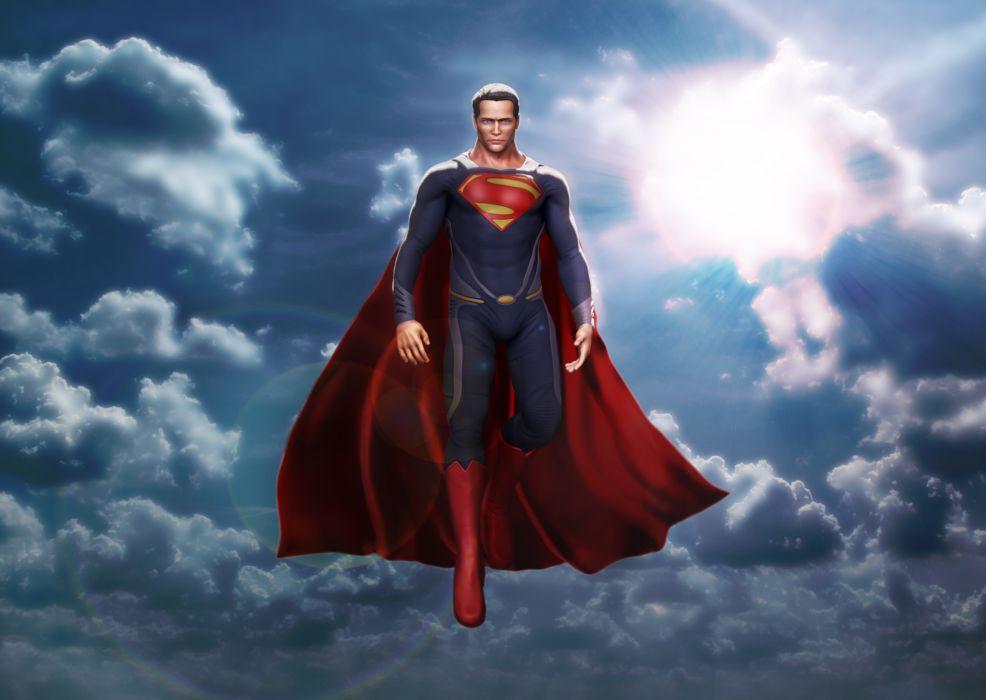 Man Of Steel superman superhero comic comics wallpaper