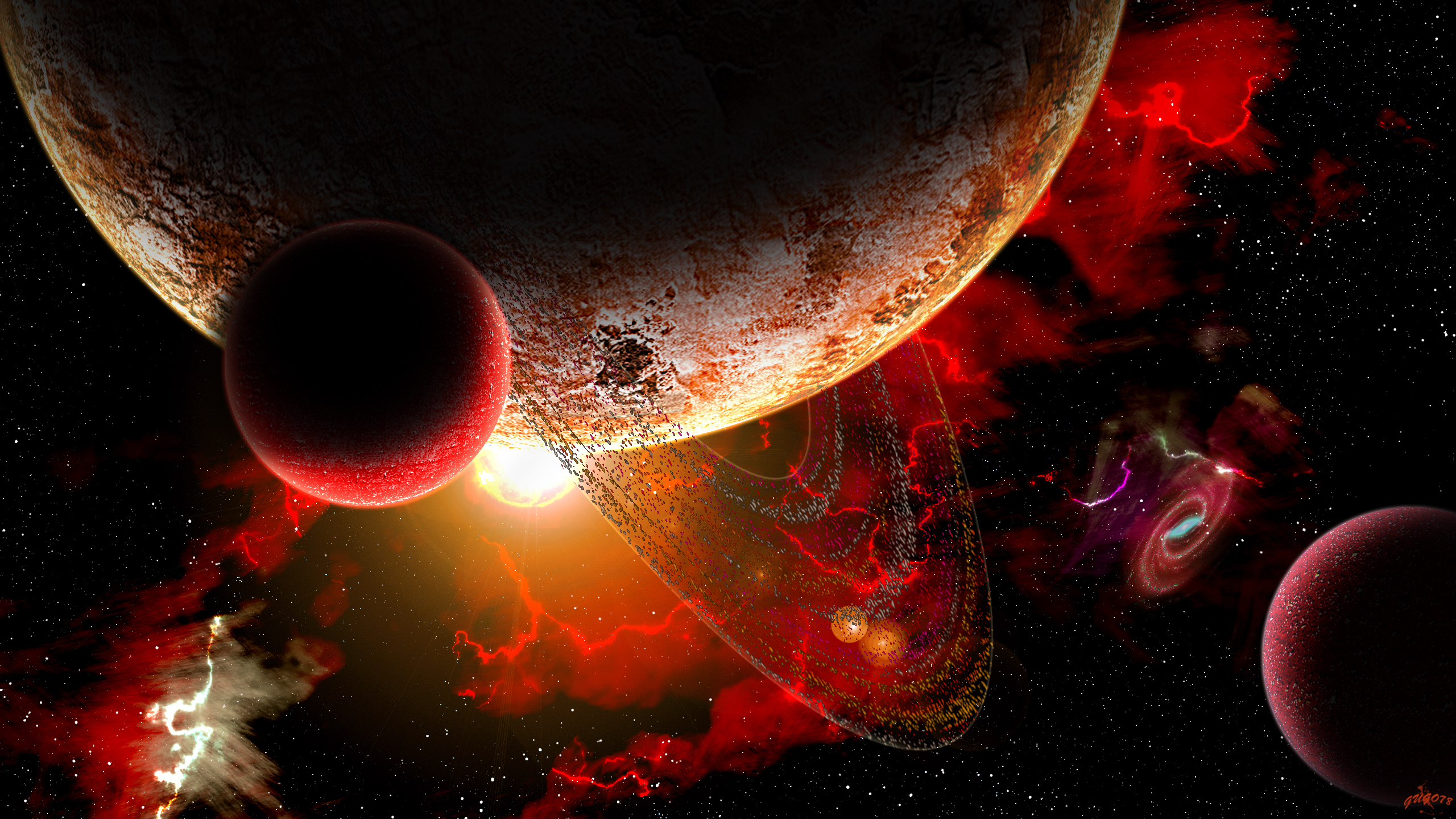 real planets and stars background - photo #4