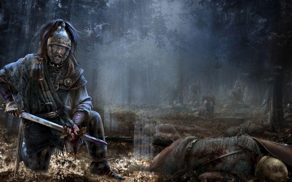 Rome Total War Warriors Man Swords Armor Helmet Games fantasy warrior weapon weapons sword wallpaper