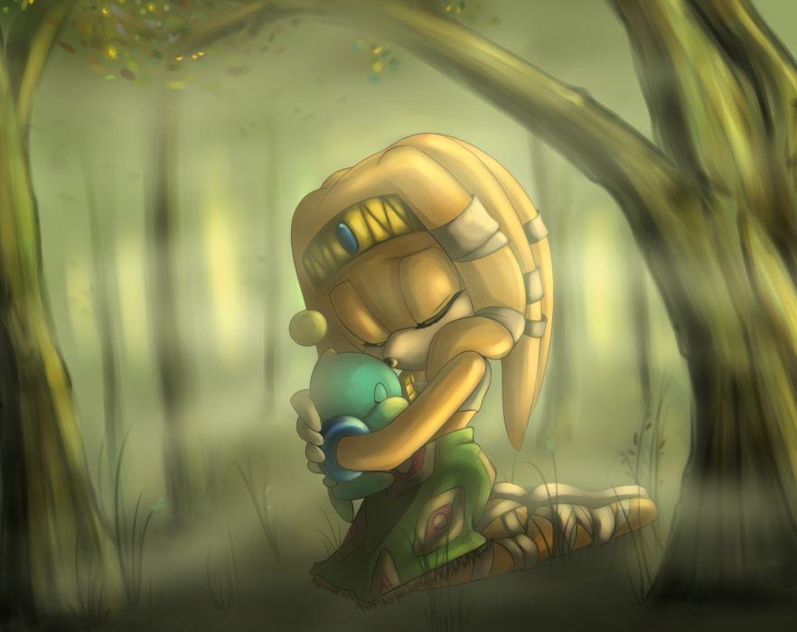 Sonic the Hedgehog Tikal the Echidna wallpaper