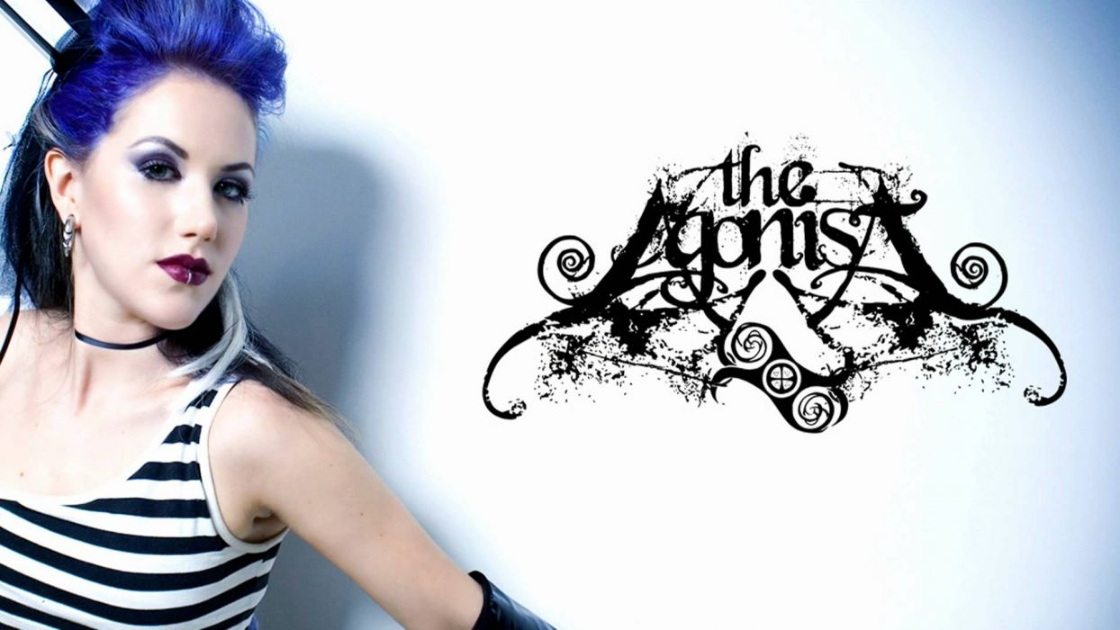 THE AGONIST alissa white symphonic metal heavy gothic     f wallpaper