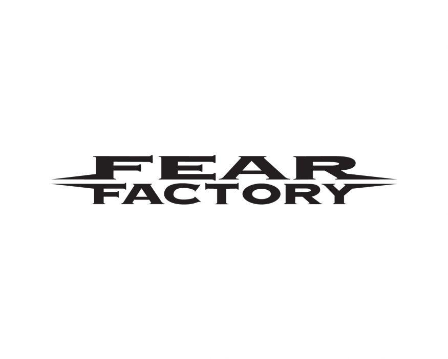 FEAR FACTORY alternative industrial metal heavy logo wallpaper
