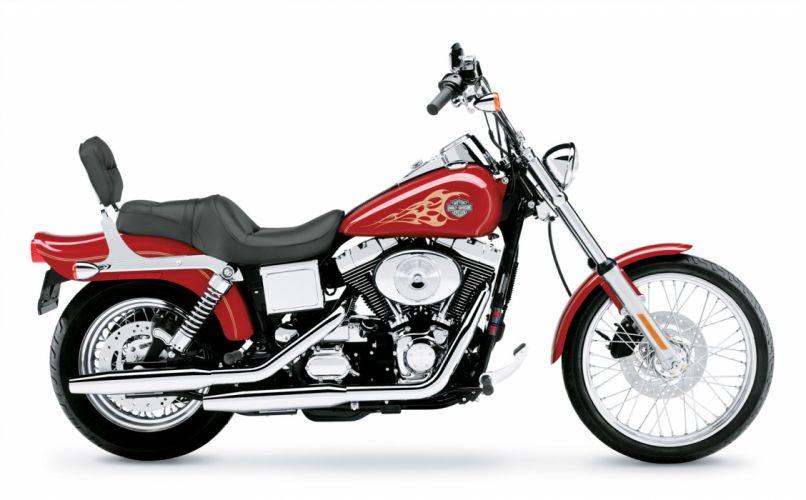 2004 Harley Davidson FXDWG-I Dyna Wide Glide wallpaper