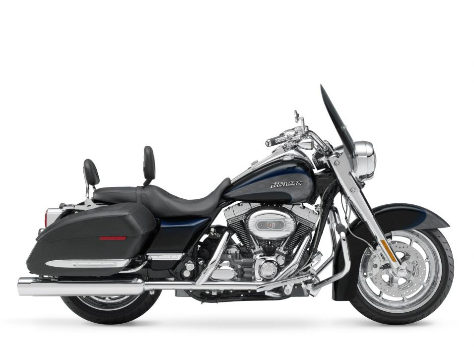 2008 Harley Davidson FLHRSE4 Road King  f wallpaper