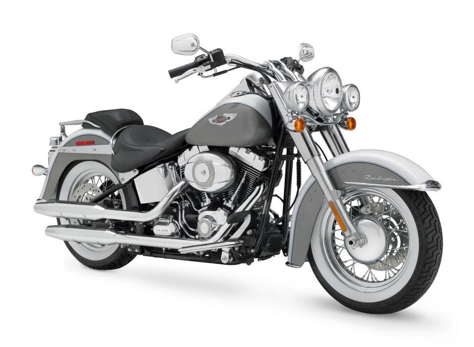 2008 Harley Davidson FLSTN Softail Deluxe   f wallpaper