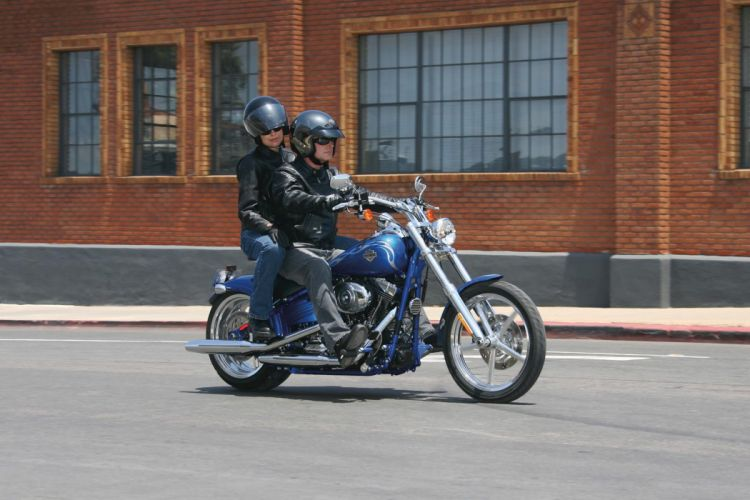 2008 Harley Davidson FXCWC Rocker C wallpaper