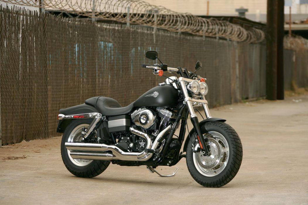 2008 Harley Davidson FXDF Dyna Fat Bob wallpaper